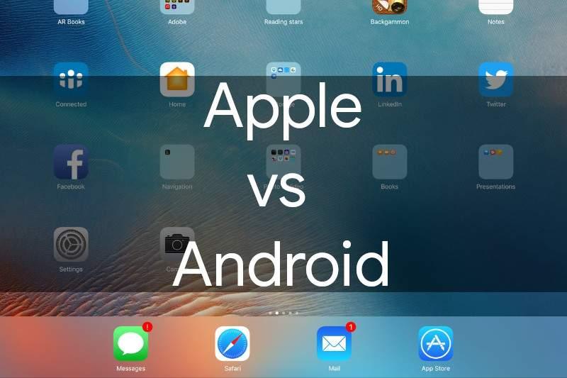 Keunggulan Apple dibandingkan dengan Android