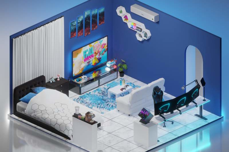 3D Room Setups Design